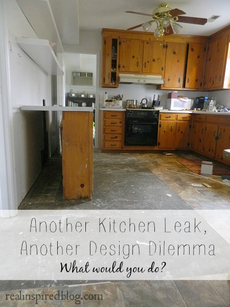 Another Kitchen Leak, Another Design Dilemma