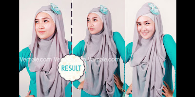 Cara Pakai Hijab Jilbab Modern Styles Beautiful Bow Cute