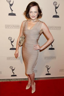 Celebrities Bandage Dresses, Elisabeth Moss Bandage Dresses Pics