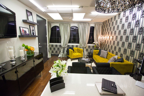 Oficinas kardashian jenner interiores por paulina for Decoration maison kourtney kardashian