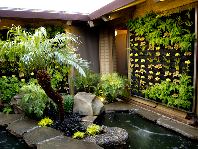 Floraframe Living Wall Kits For A Private Residence In Los Altos. Design By Living  Green, San Francisco.