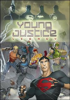 Capa de Young Justice: Legacy