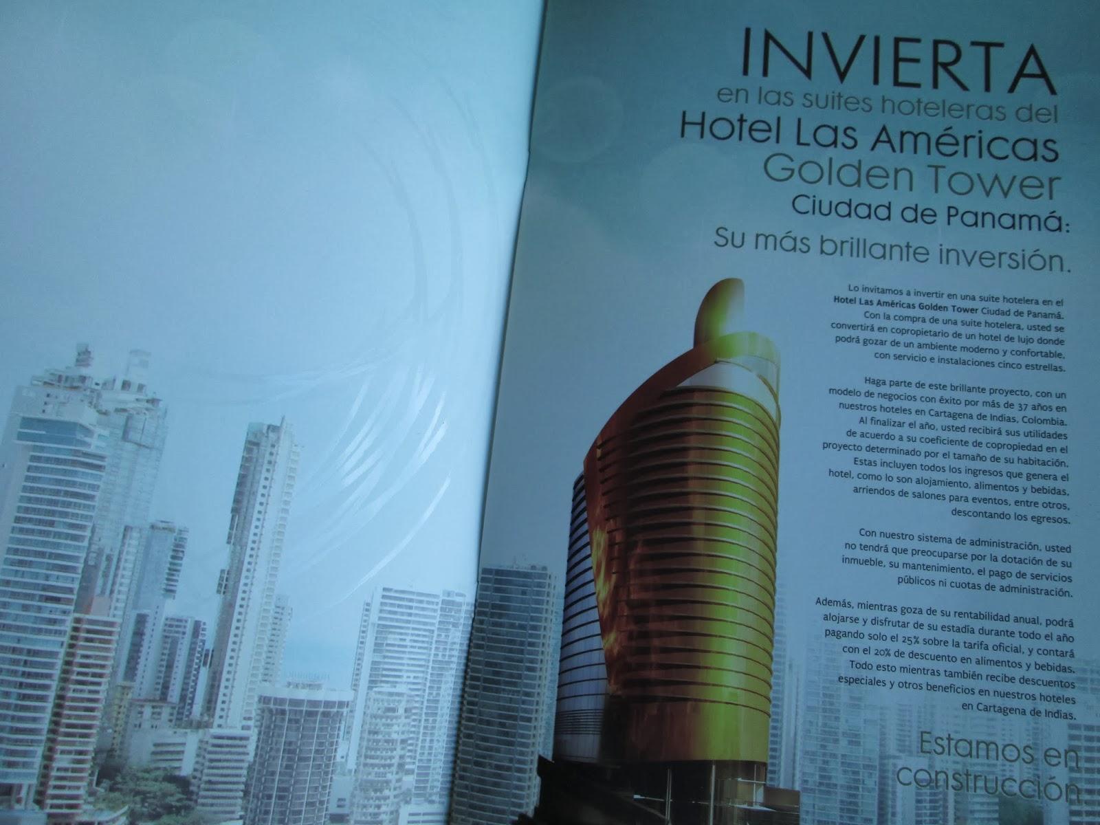 Hotel Las Américas Golden Tower Ciudad de Panamá, colombianos ...