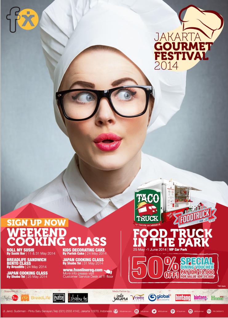 jakarta gourmet festival 2014