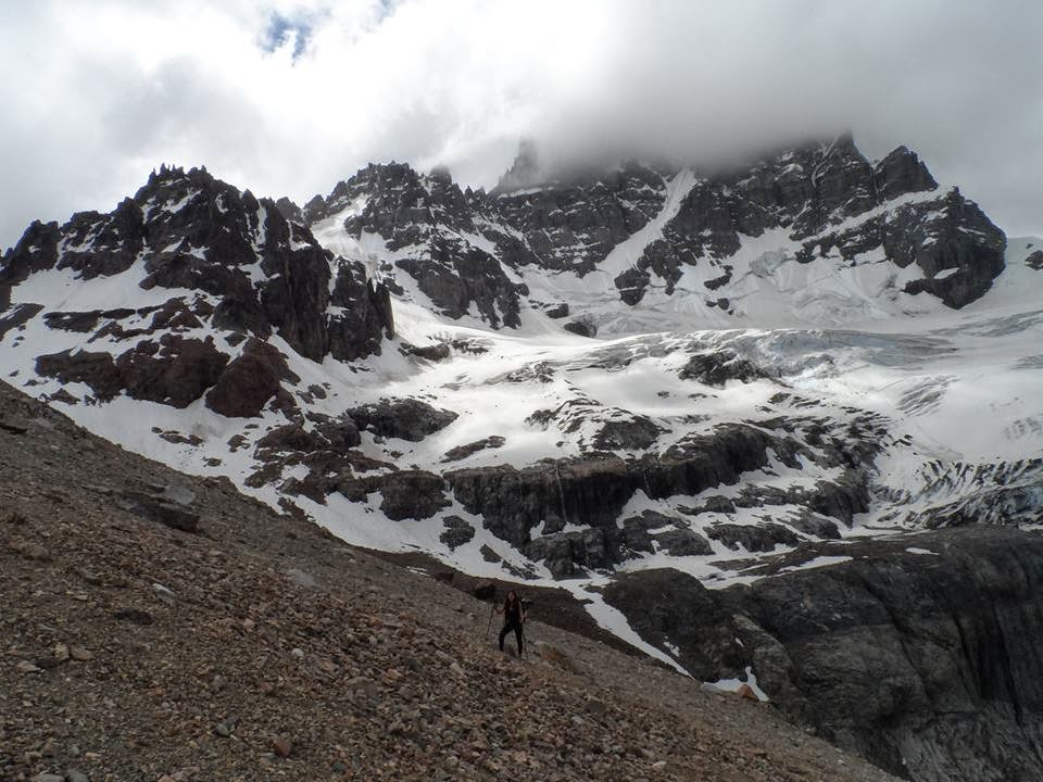 Vista de la Patagonia Chilena (sector de Cerro Castillo).