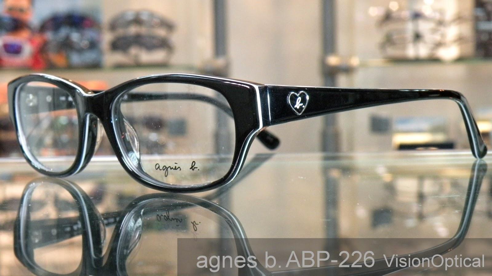 Agnes b. 眼鏡架