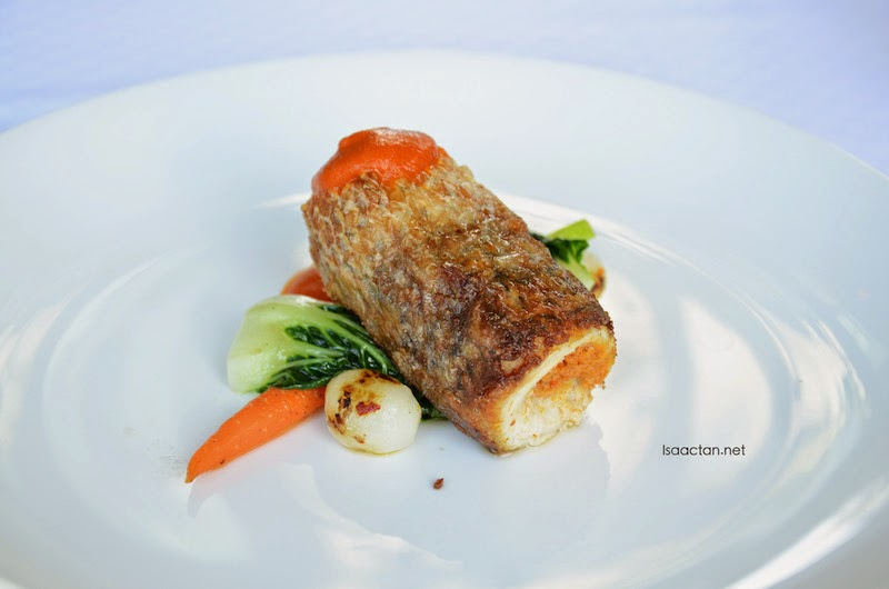 Seared Barramundi