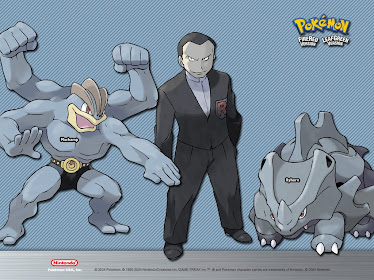 BOSS with Her POKEMON