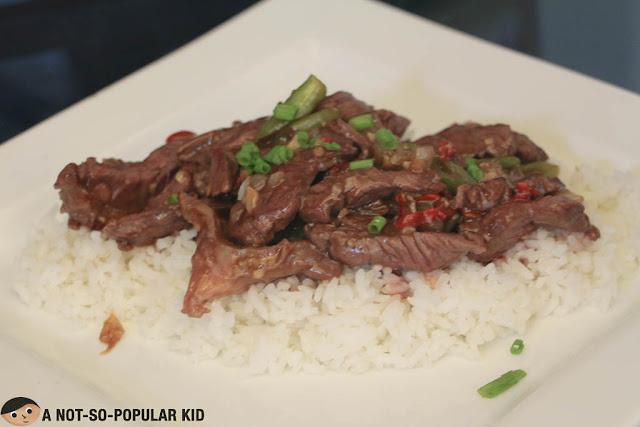 Thai Chili Beef of North Wing Restaurant