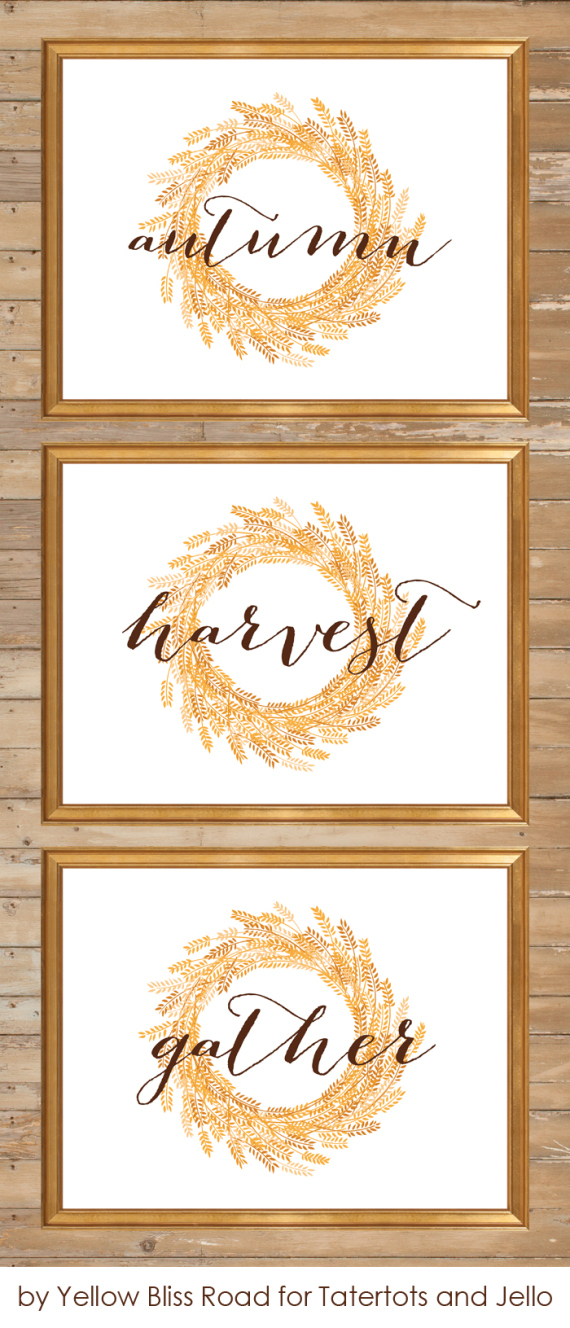 It's just a picture of Nifty Printable Fall Decorations