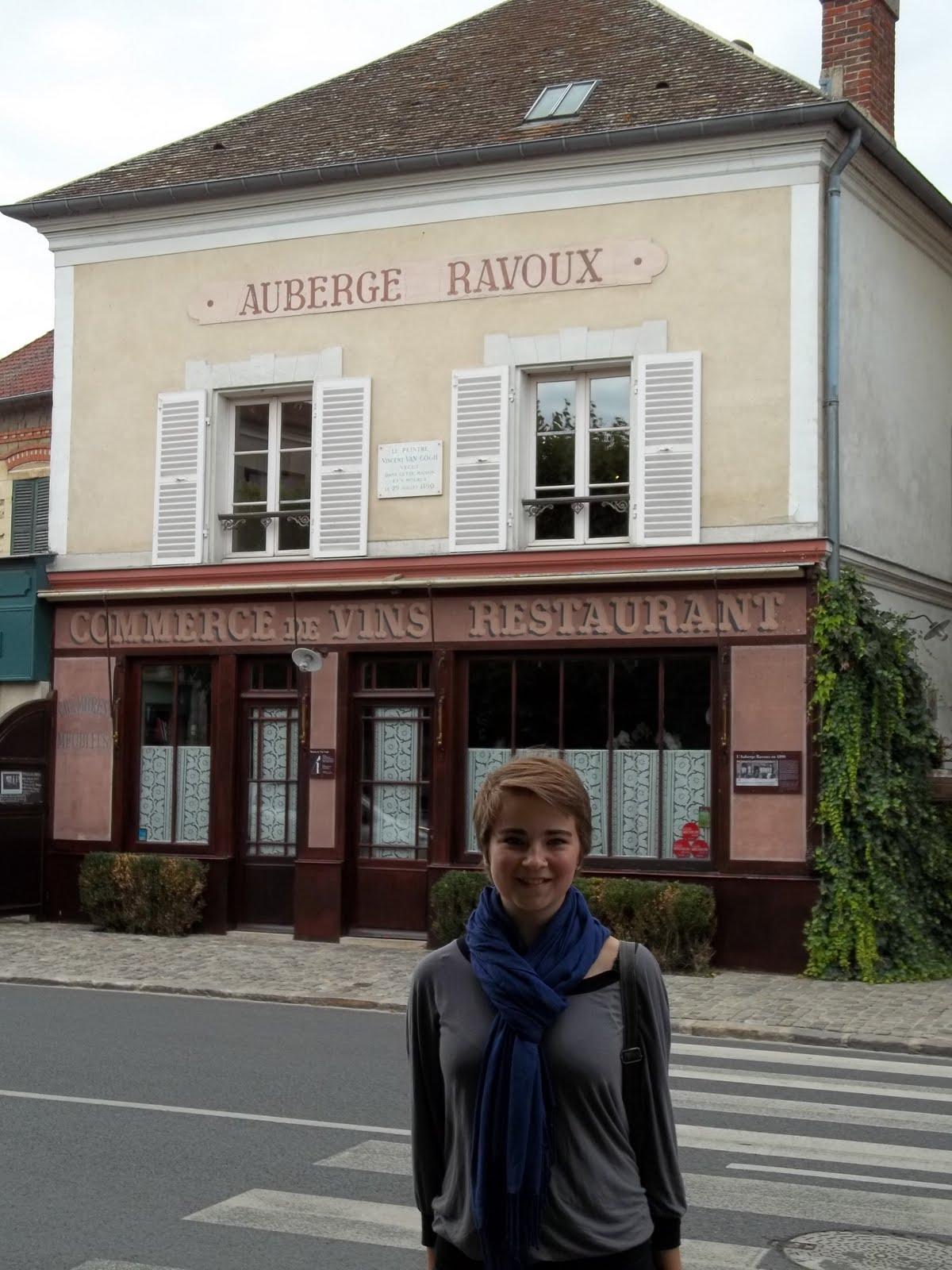 Mon voyage en france maison van gogh for Auberge ravoux maison van gogh