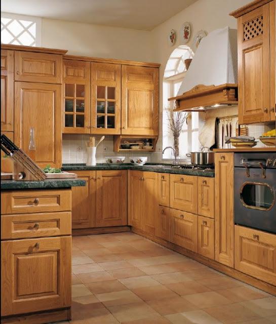 okapy kuchenne rustykalne