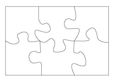 2 Piece Jigsaw Puzzle Template http://throughtheeyesofasorcerer.blogspot.com/2011/08/puzzle-of-me.html