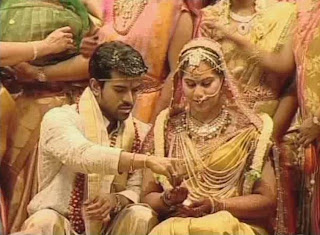 Ram Charan Teja and Upasana marriage stills