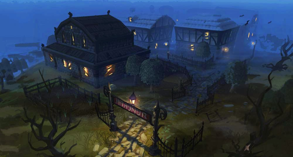 Runescape MMORPG game review picture of draynor runescape 3