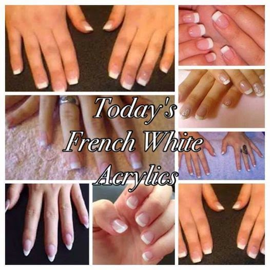 French white acrylics