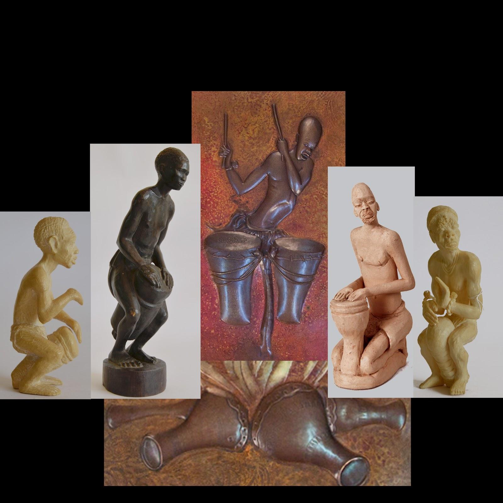Seis piezas de la coleccion, tema percusion