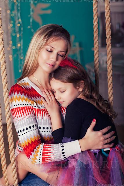 красивая фотография мама и дочка