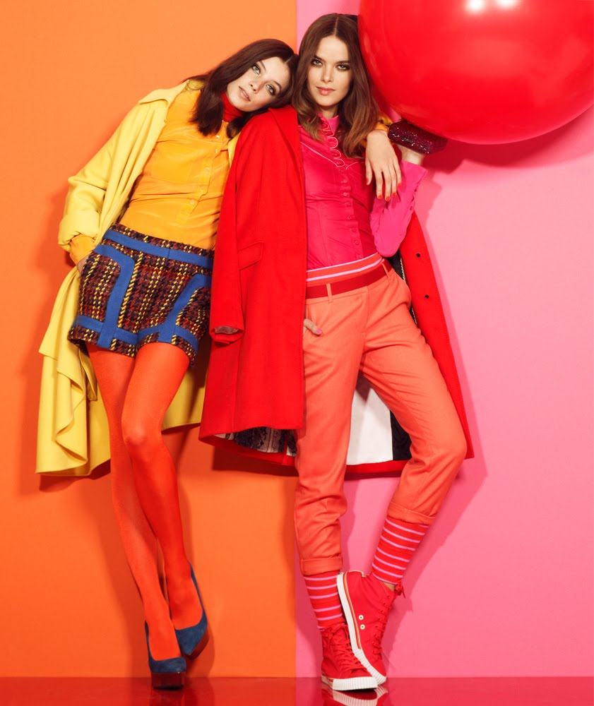 17 Best Images About Color Block On Pinterest: Monochrome Color Blocking Fashion Editorials With Model