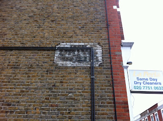 Ghost sign in New King's Road, London SW6