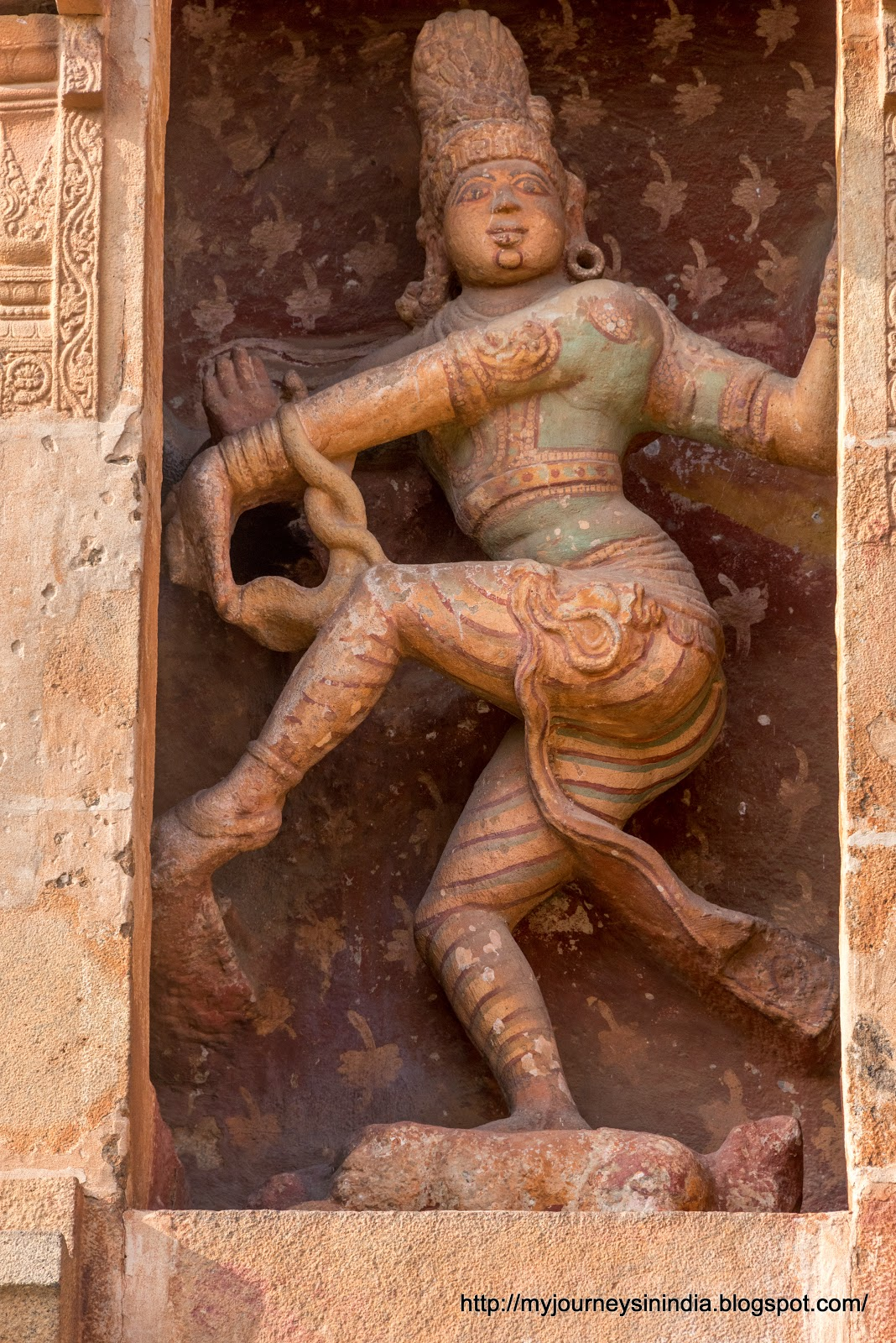 Thanjavur Brihadeeswarar Temple Nataraja