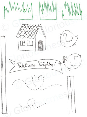 Welcome to the neighborbood sketch images