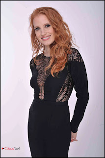 Jessica Chastain Pictures in Little Black Dress at Chime For Change Concert 0003