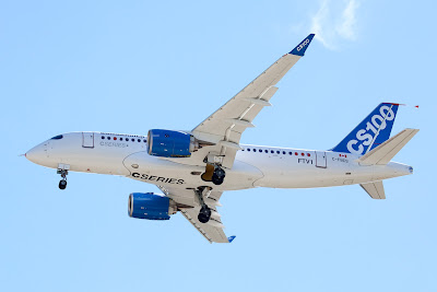Bombardier's CSeries Aircraft Completes Historic First Flight