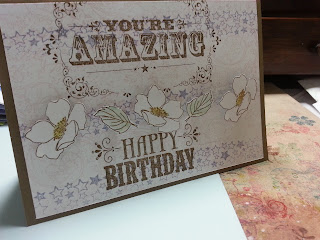 Stampin' Up! Vintage look