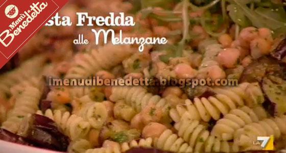 Pasta Fredda Melanzane e Ceci di Benedetta Parodi