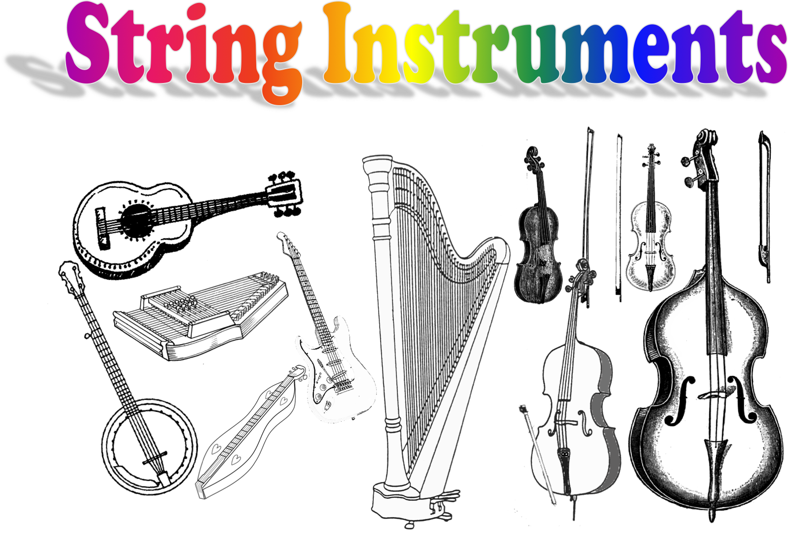 names of string instruments Gallery