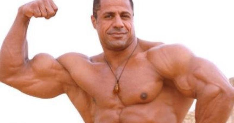 Egyptian Body Builders : Ahmed Hamouda Body builder