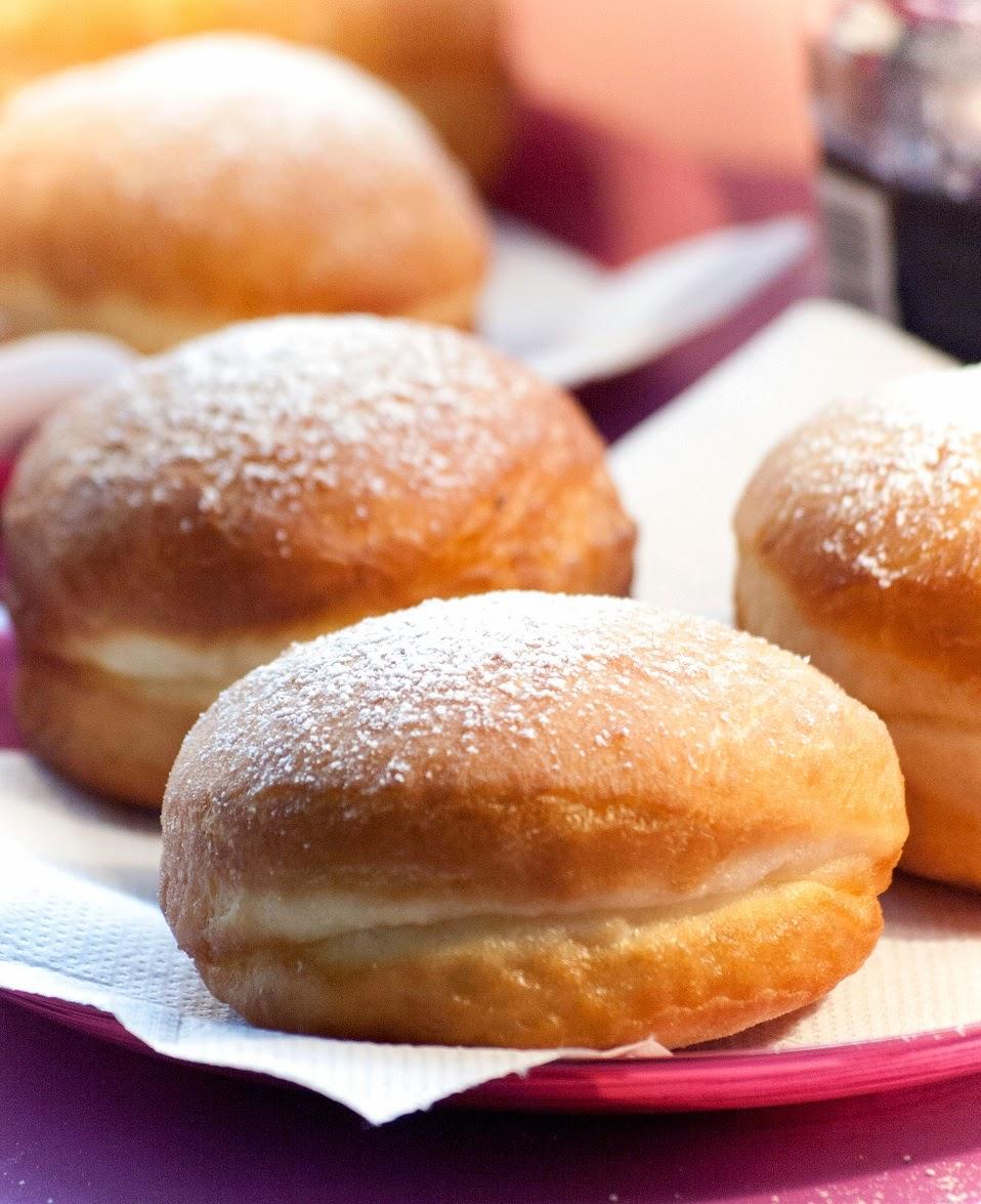 Beignets maison fourrés à la confiture, recette beignet, étape par étape beignets, beignet maison