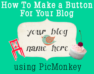 How to make a button for your blog - tutorial from The Blog Guidebook