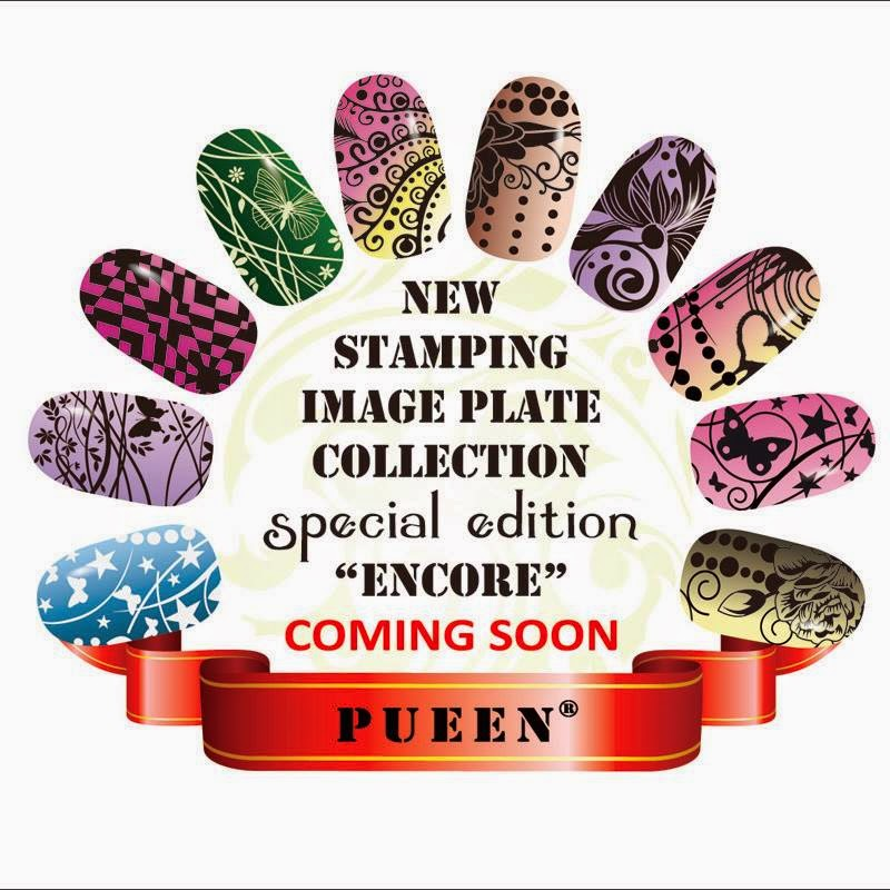 Lacquer Lockdown - Pueen Cosmentics, nail art stamping blog, nail art stamping, new nail art stamping plates 2014, new nail art image plates 2014, new nail art plates 2014, pueen encore collection, diy nail art, cute nail art ideas