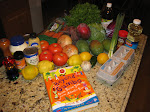Foods Purchased for June Recipes