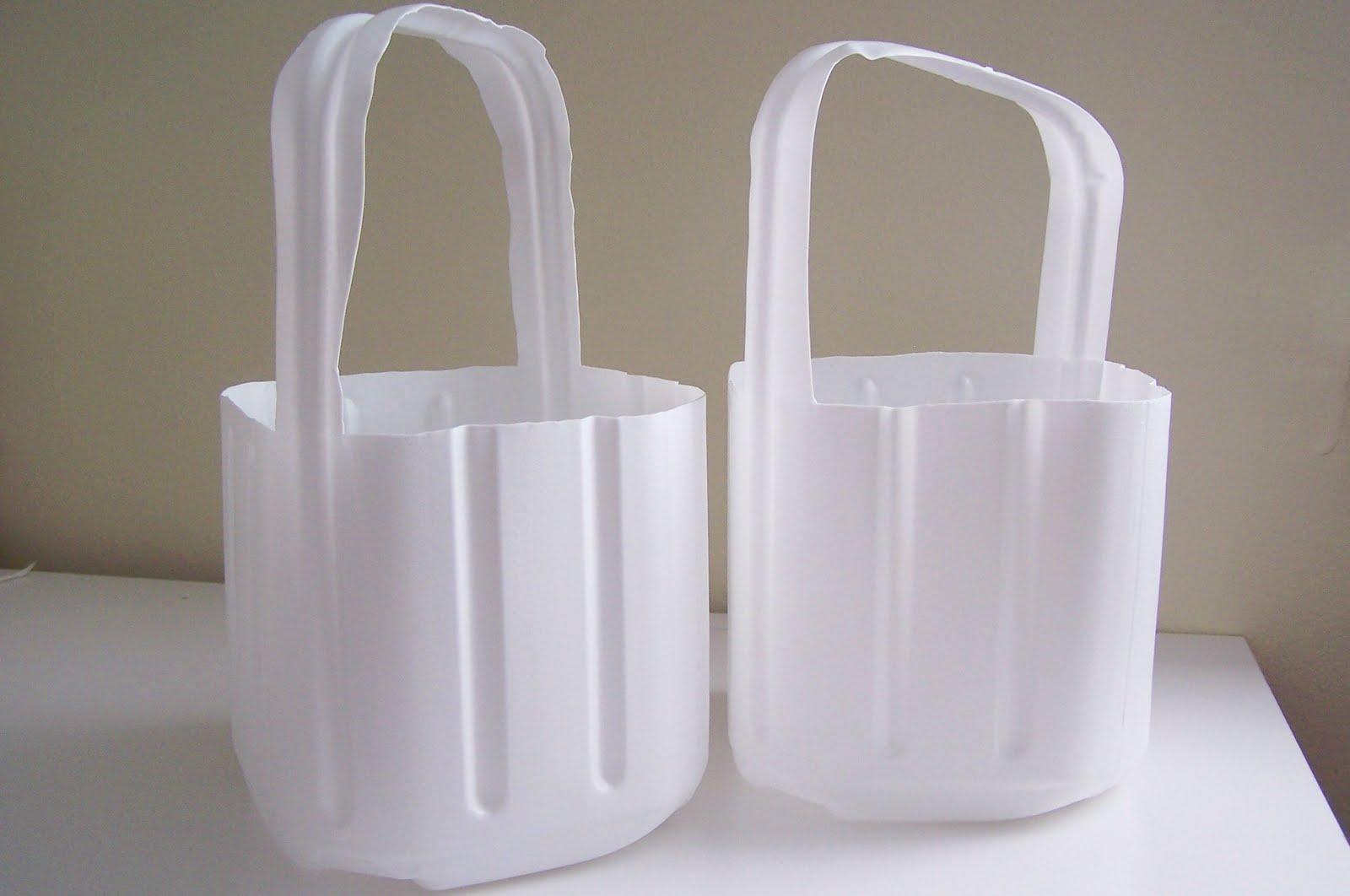 Repurpose relove repurposed milk jug easter baskets repurpose relove negle Image collections