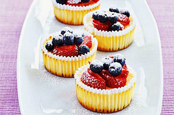 recipe for Cheesecakes-