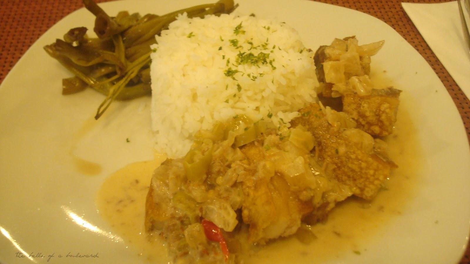 Crispy Bicol Express- Restaurant Of Choice