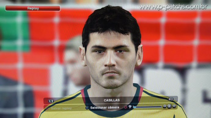 Face do Casillas no PES 2014