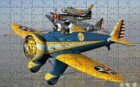 Classic airplane puzzle