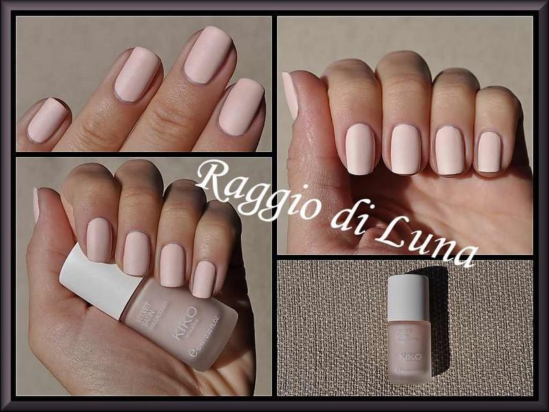 Raggio di Luna Nails: Kiko Velvet Satin Nail Lacquer n° 690 Misty Pink
