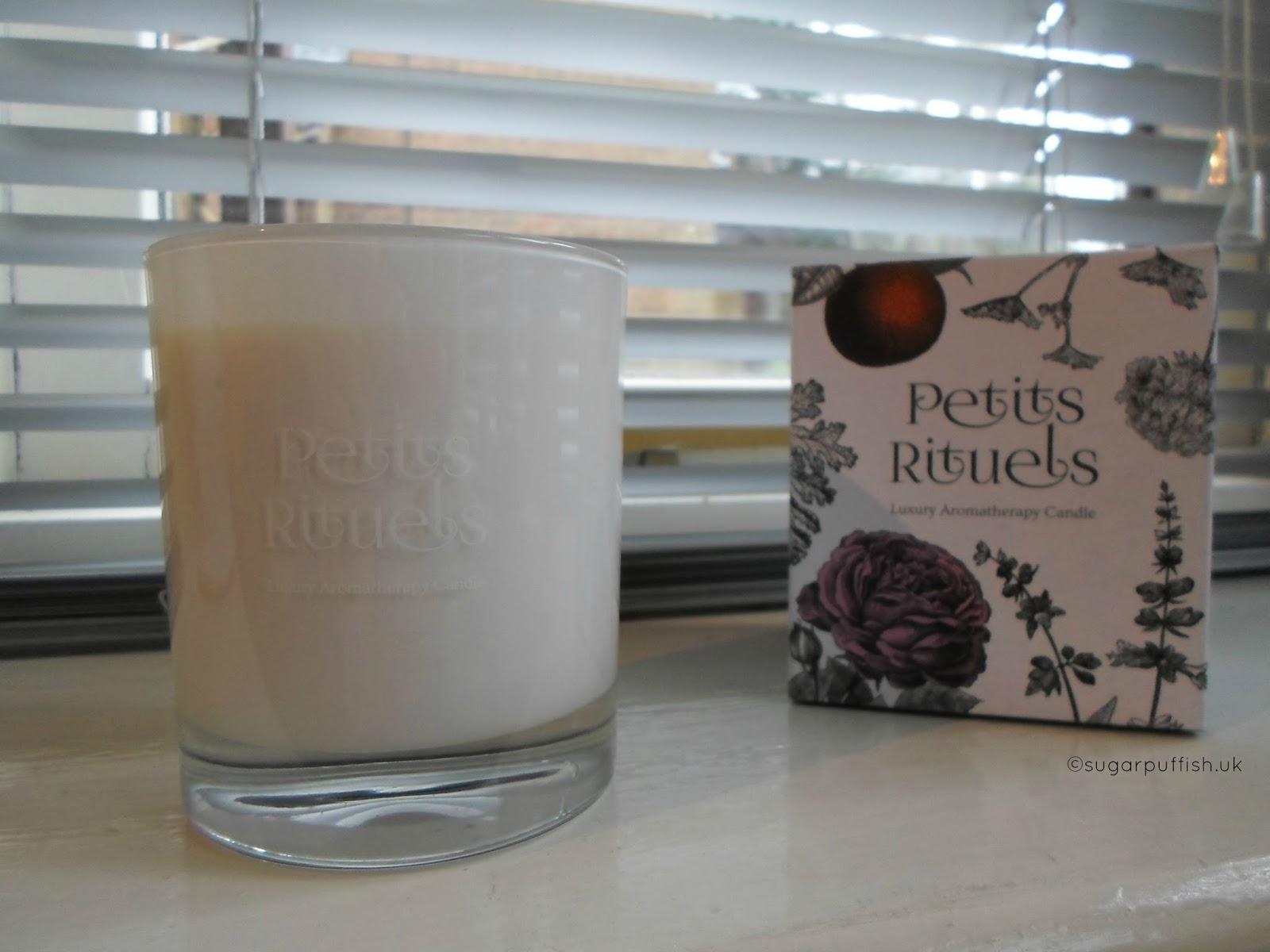 Petits Rituels Luxury Organic Aromatherapy Candles