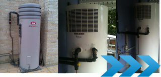 Heat pumps for heating water