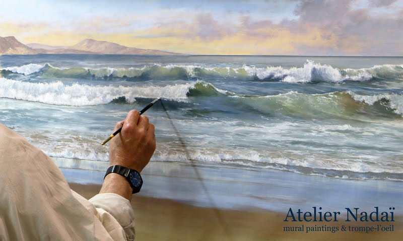 Atelier Nadai - Mural paintings and trompe-l'oeil
