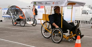 tricicleta solar