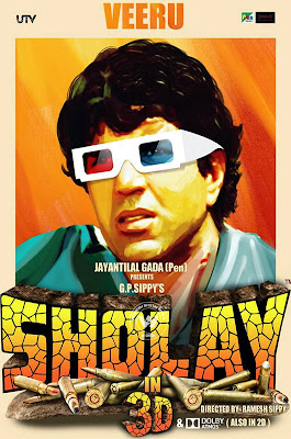 Watch Sholay In 3D Movie