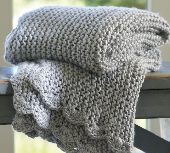 Knitting Pattern For A Throw Blanket : a caffeinated yarn: holidazed