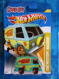Hot Wheels Premiere Scooby Doo Mystery Machine van Treasure Hunts T-hunt die cast car
