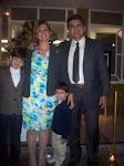 Papai, mamãe eu e o Rafael